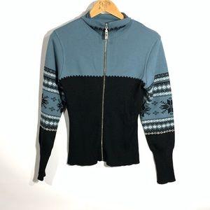 Nils sportswear athletic zip up sweatshirt